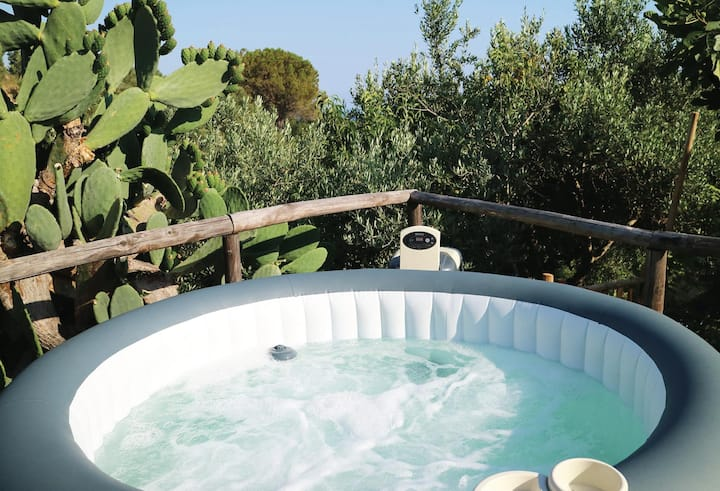 Nonno Sabato Cottage Relaxation, Spa, WiFi-Cilento