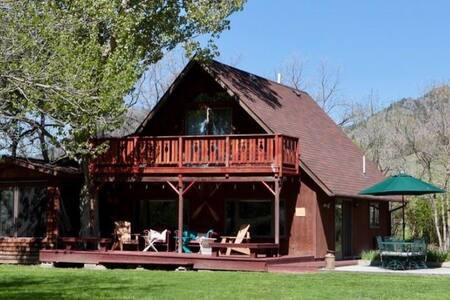 Cabin on the Missouri between Craig & Cascade MT