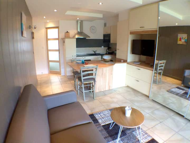 Apartment with one bedroom in Carnac, with furnished terrace