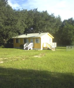rainbow cottage, cozy, 2/1 pet friendly rental - Dunnellon
