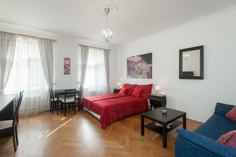 Private and cozy apartment in the heart of Prague.