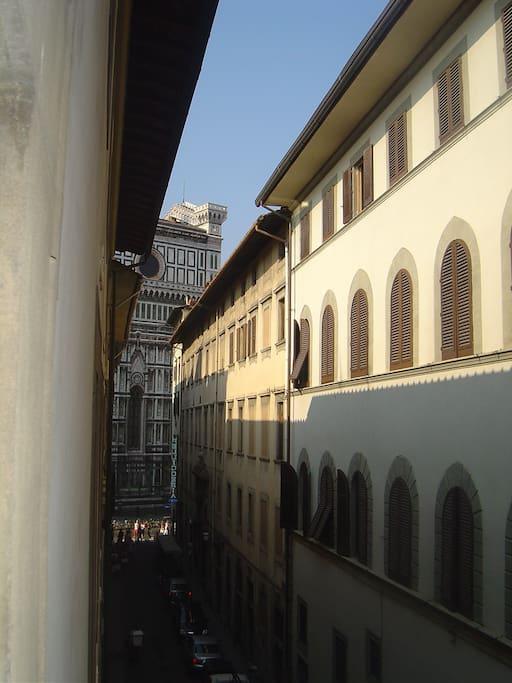 close to the Duomo