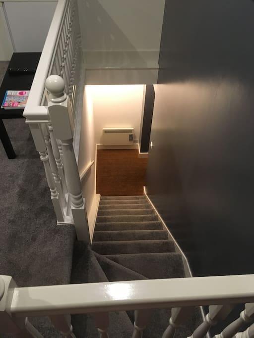 Loft entrance
