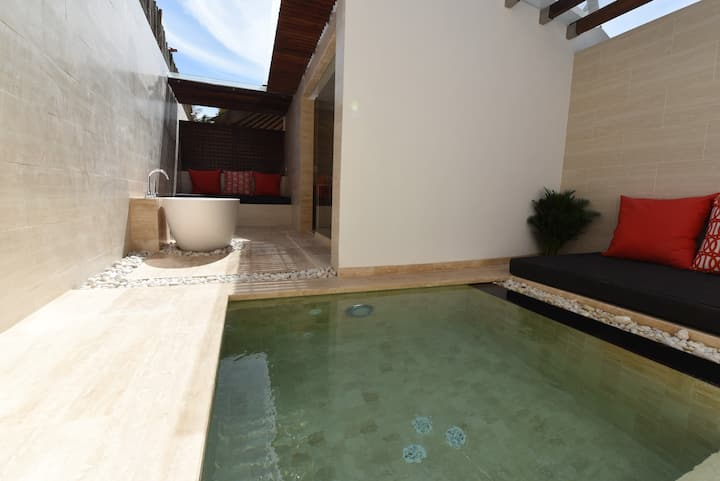 Luxury Ocean ViewPrivate Cottage with Jacuzzi