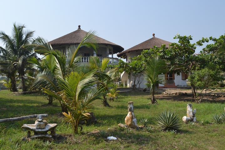Delabeach   Beachhouse ,near Accra - New Ningo - Kabin