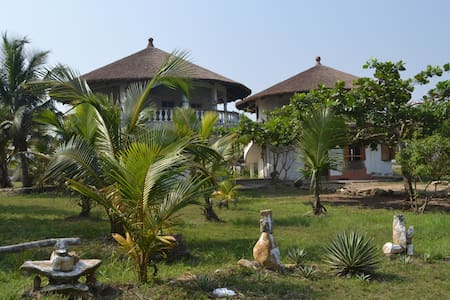 Delabeach   Beachhouse ,near Accra - New Ningo - Skáli