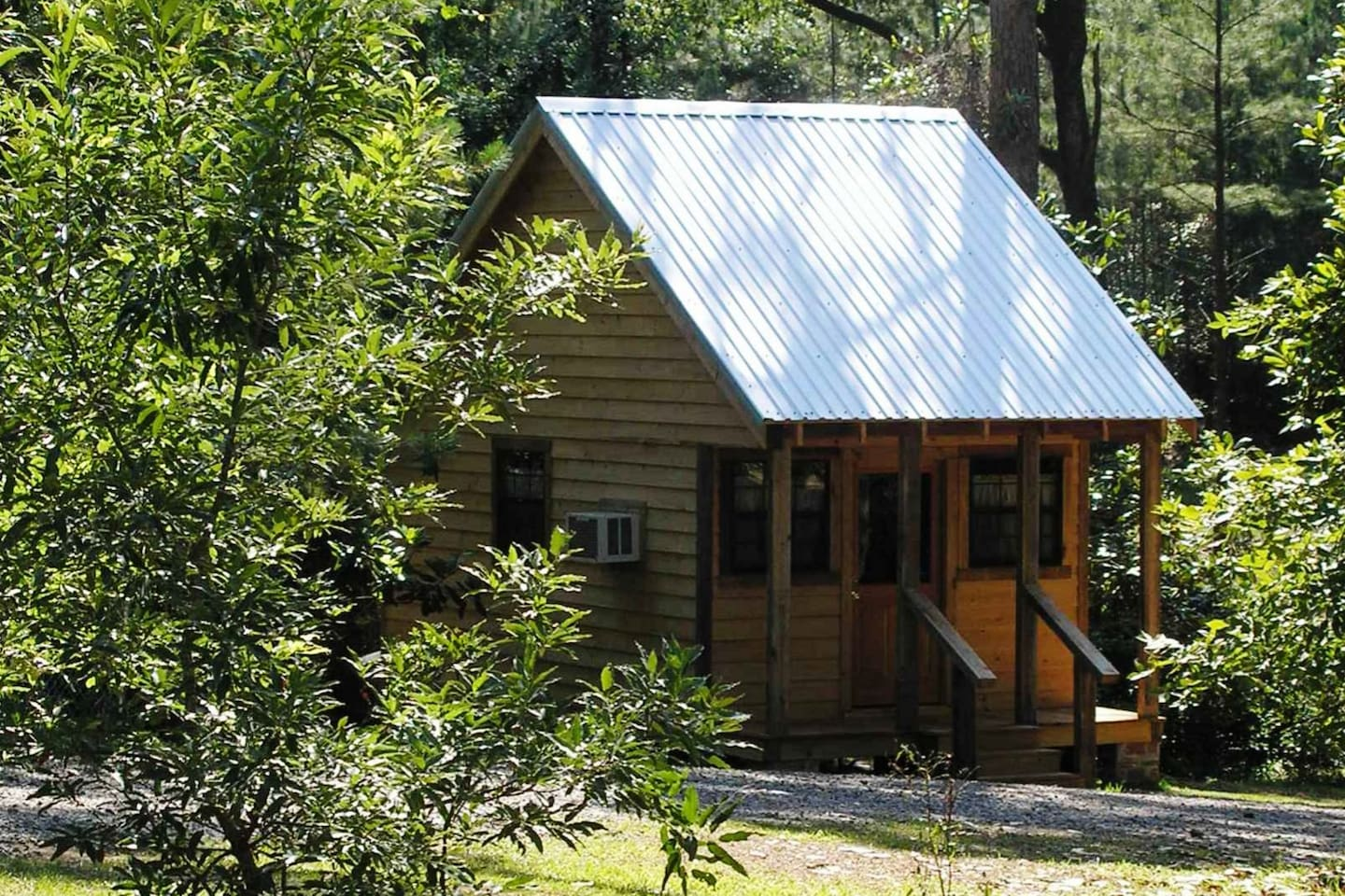 When you stay at Magnolia Cabin, we are sharing our quiet retreat with you.  A great stay for individuals, couples and families -- come to enjoy the outdoors on property or at nearby Kincaid Lake and Kisatchie National Forest.