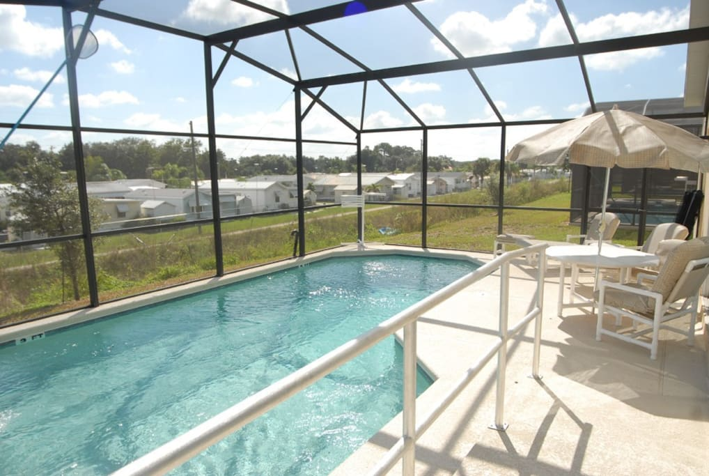 Relax by your private pool at Vizcay, Davenport, Orlando, Florida