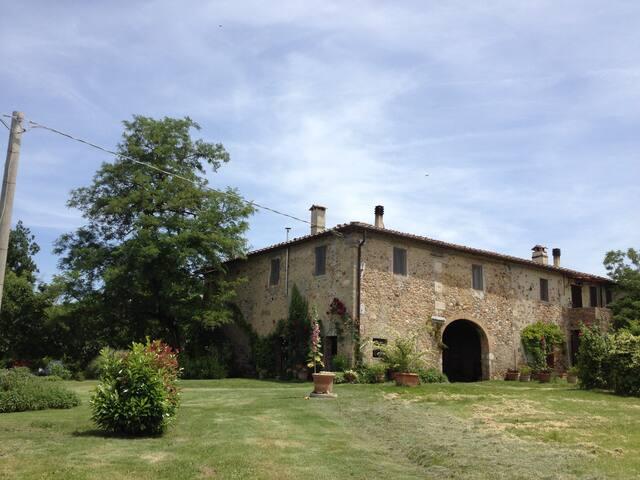 casa romantica in Toscana