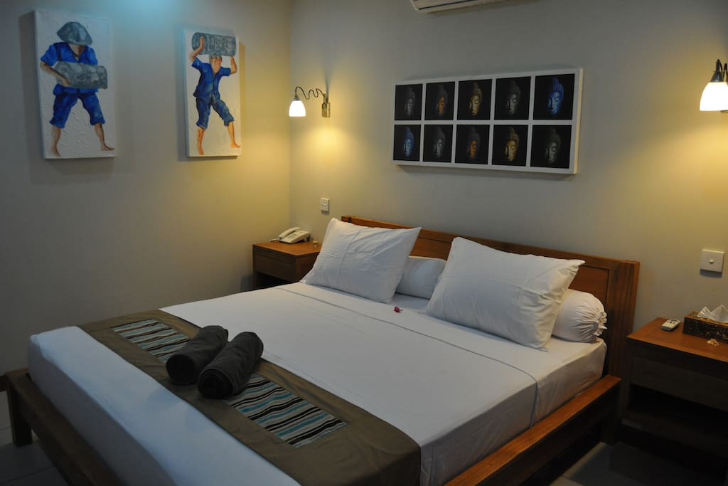 The picture of Deluxe room from inside
