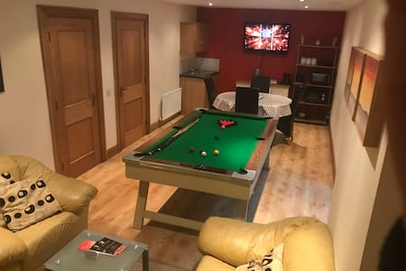 Basement apartment with private access