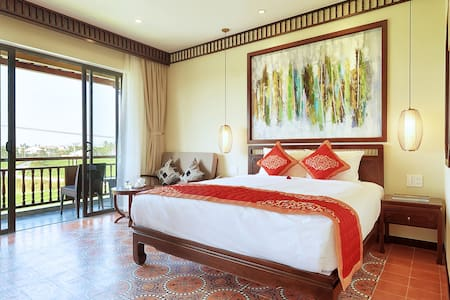 Deluxe Double Room Rice Field view with balcony - Hội An - 精品飯店