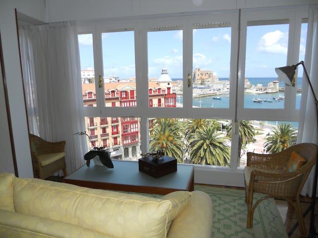 Piso centrico con vistas al mar - Castro Urdiales - Apartment