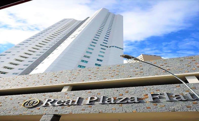 rpf2402- Real Plaza, 1 Quarto e Ar Condicionado