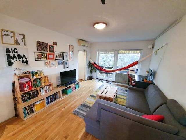 Cozy apartment near lake Jarun