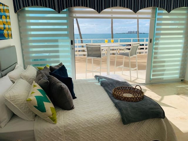 Listen to the Ocean waves From your Bed or Terrace
