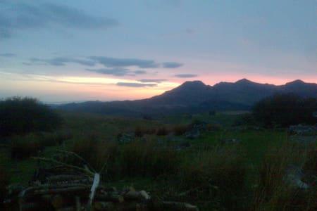 Mountain Retreat- Cosy 4 bed shared room - Blaenau Ffestiniog - Κοιτώνας