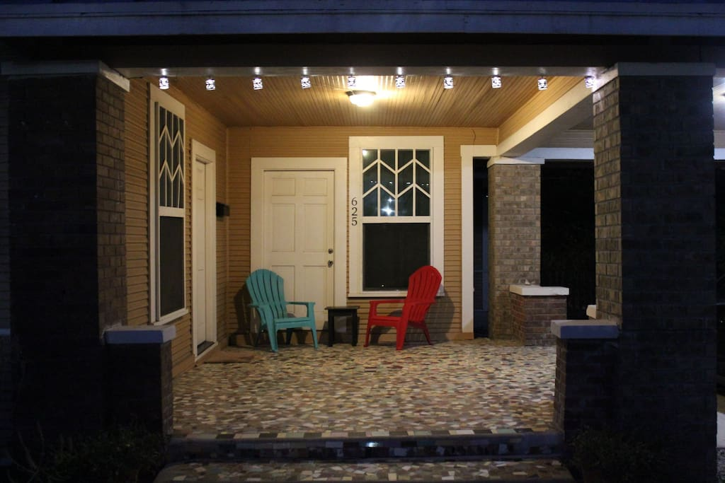 Unique Tile Porch