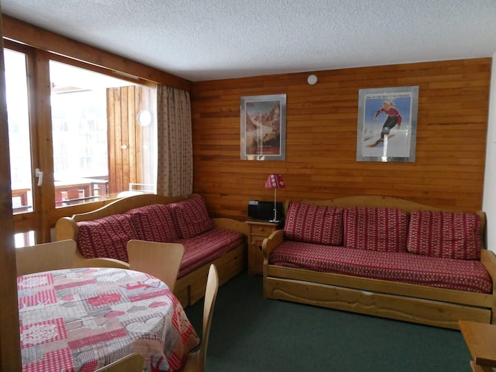 Very nice two-room apartment in the resort center for 5 people, 35 m²