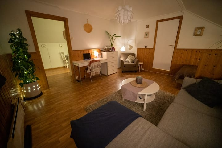 A cosy apartment in the center of Tromsø