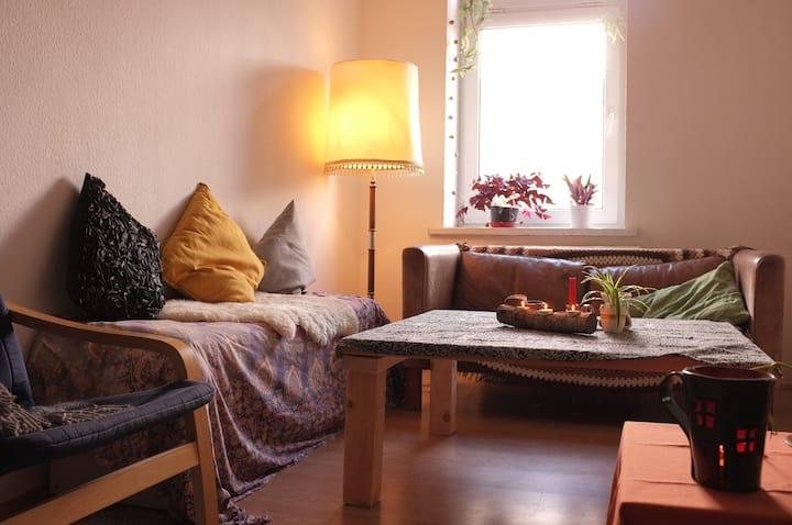 Liebevoll naturverbundenes Heim in Plagwitz