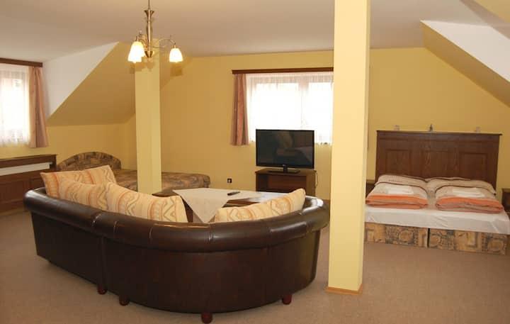 4-lůžkový apartmán č.5