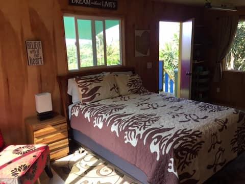 Quaint Polynesian Style Cabin on a Working Farm