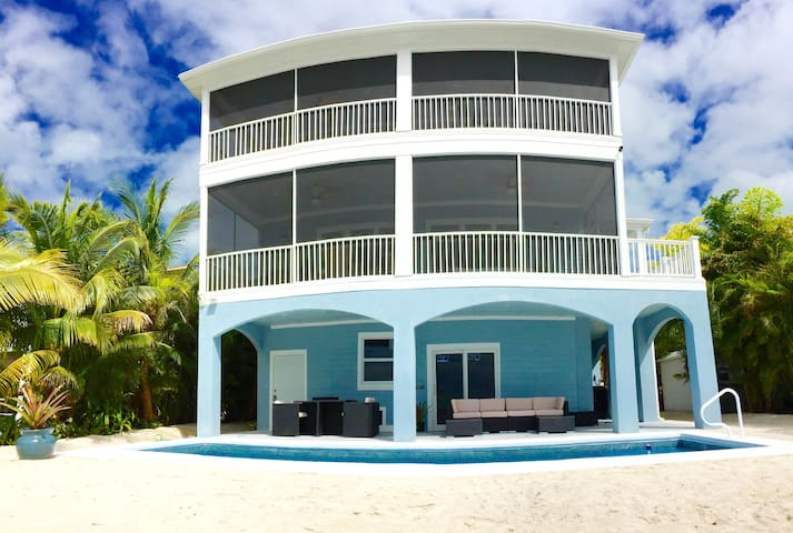 Brand New 5 Star Oceanfront Oasis Awaits You! - Cudjoe Key - House