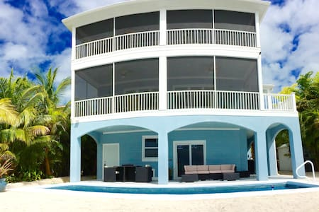 Brand New 5 Star Oceanfront Oasis Awaits You! - Cudjoe Key