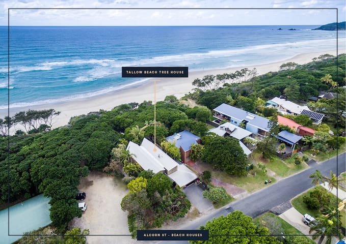 Tallow Beach Tree House - EXTENDED STAYS WELCOME