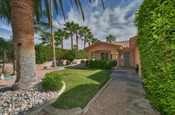 Private home centrally located in Palm Springs.