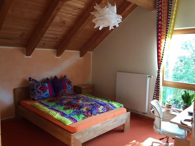 Gemütliches Zimmer im Grünen nahe Kassel