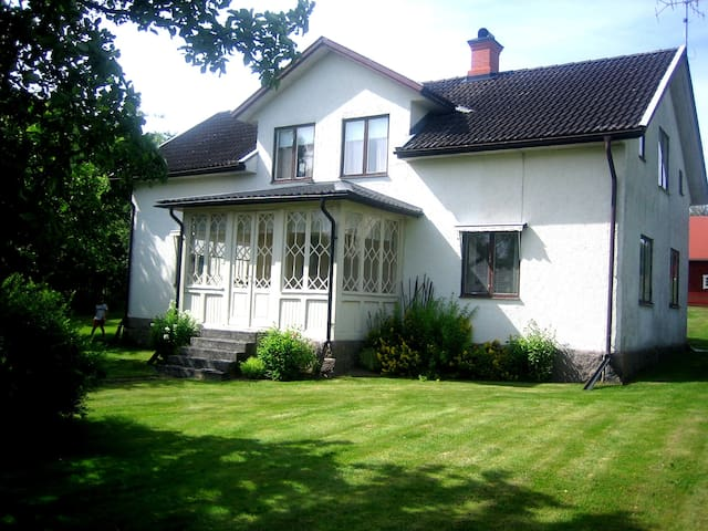 Large house in Haddarp, Lönneberga