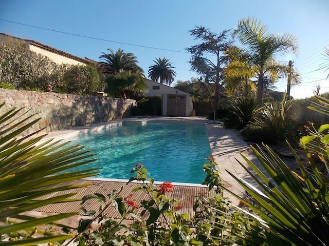 Private studio with swimming pool - Mandelieu-La Napoule - Apartment