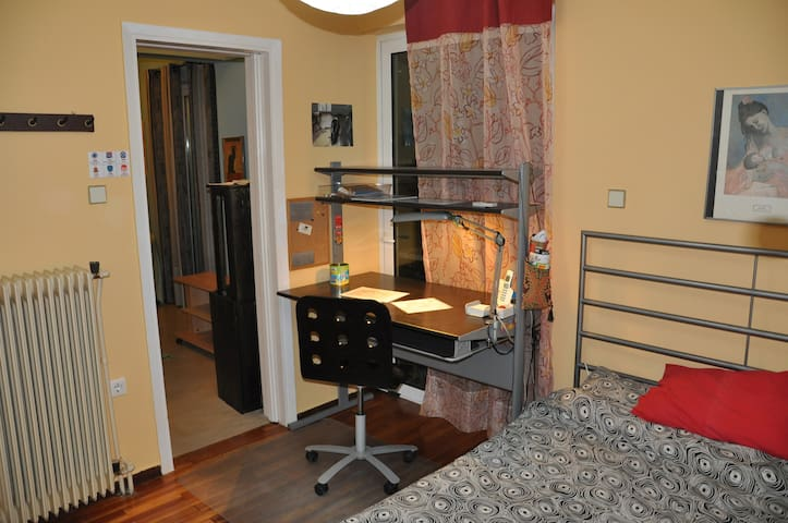 Top-floor apartment, not far from Athens center