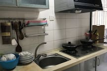 Dan Home小清新--上梅林地铁口旁边温馨甜蜜之家