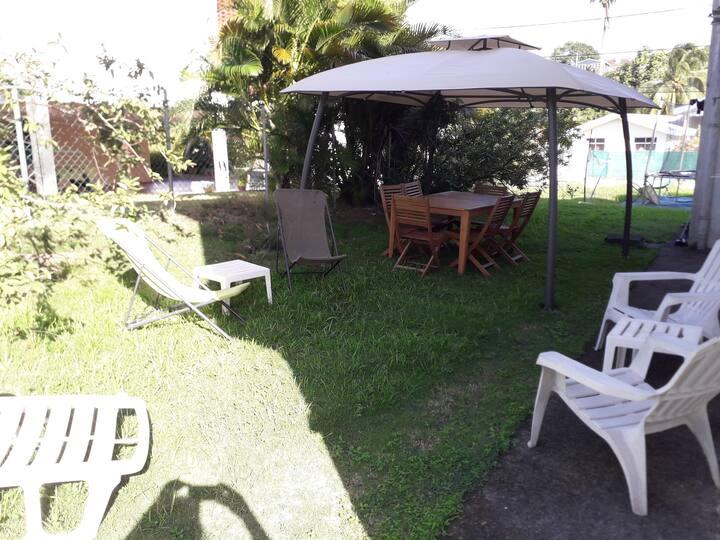 Agréable T3 avec jardin et terrasse