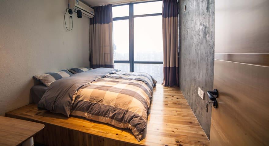 3101珠海故事空间180度海景顶层复式艺术创意空间--静海(单间) - Zhuhai - Apartment