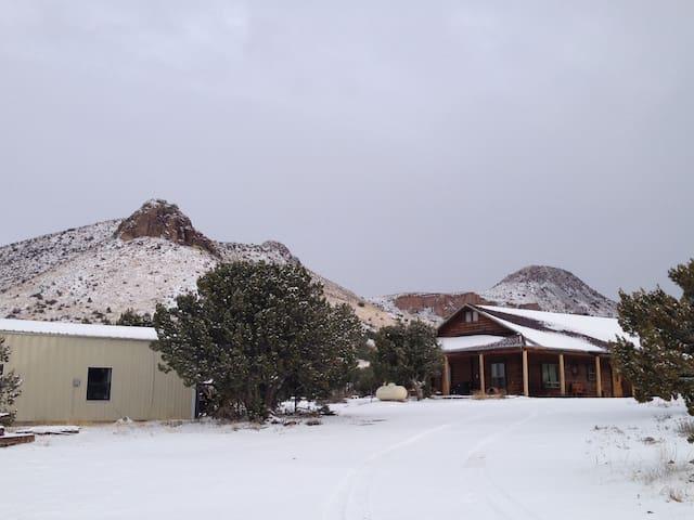 New Mexico Bunkhouse Retreat.