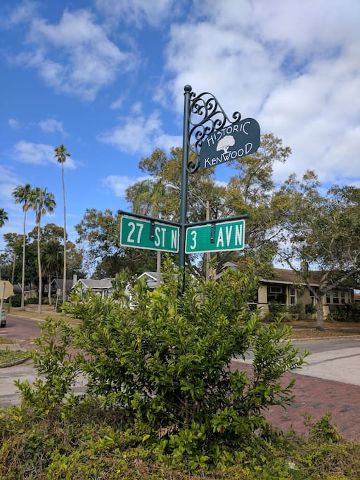 This neighborhood is on the National Registry of Historic Places