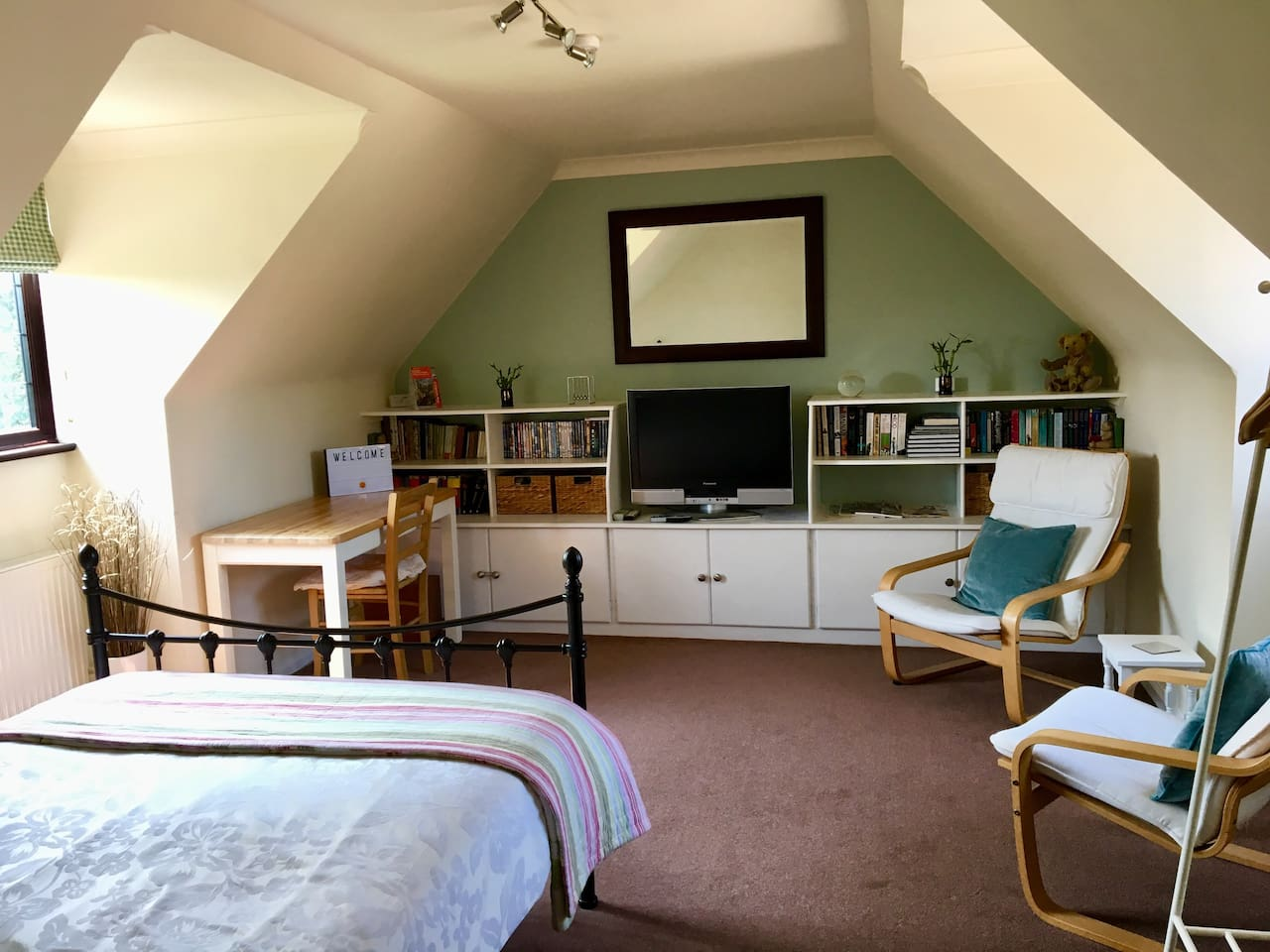 Our spacious double room