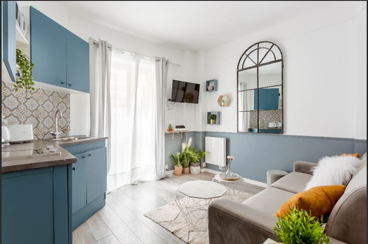 little cosy studio near the Eiffel tower