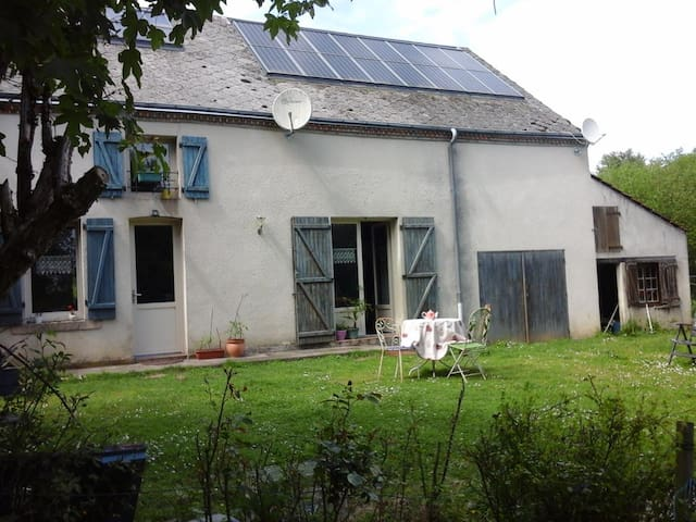 Charmante Maison en jolie campagne - Moutier-Malcard - Casa
