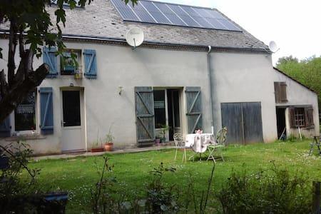 Charmante Maison en jolie campagne - Moutier-Malcard