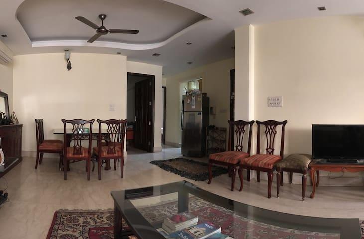 Une chambre comfortable dans le centre de Delhi
