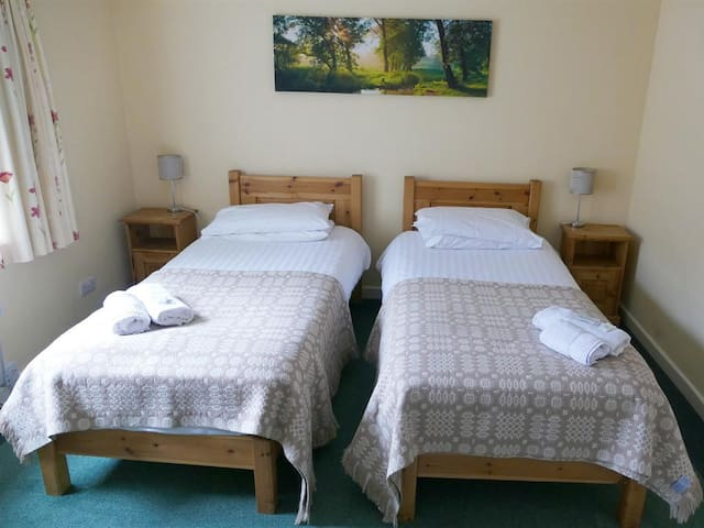 Double or twin room at Snowdonia Mountain Lodge