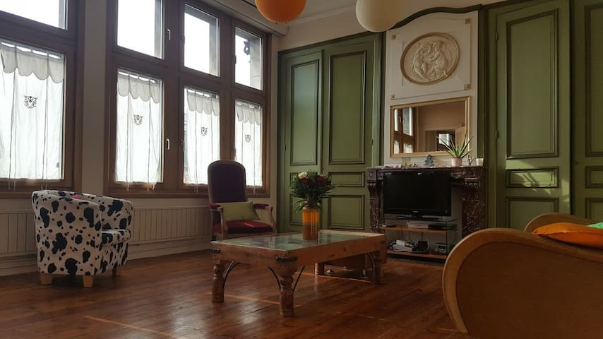 Charmant appartement 2 chambres en centre-ville - Tourcoing - Apartamento