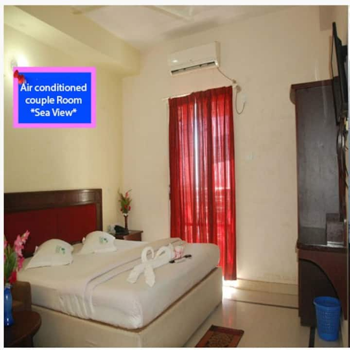 Sea View air conditioned couple room