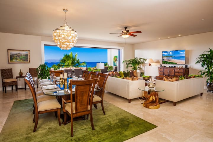 APRIL SAVINGS:VACATION IN YOUR OWN PRIVATE MAUI PARADISE! Blue Horizons K308, OCEAN VIEWS!