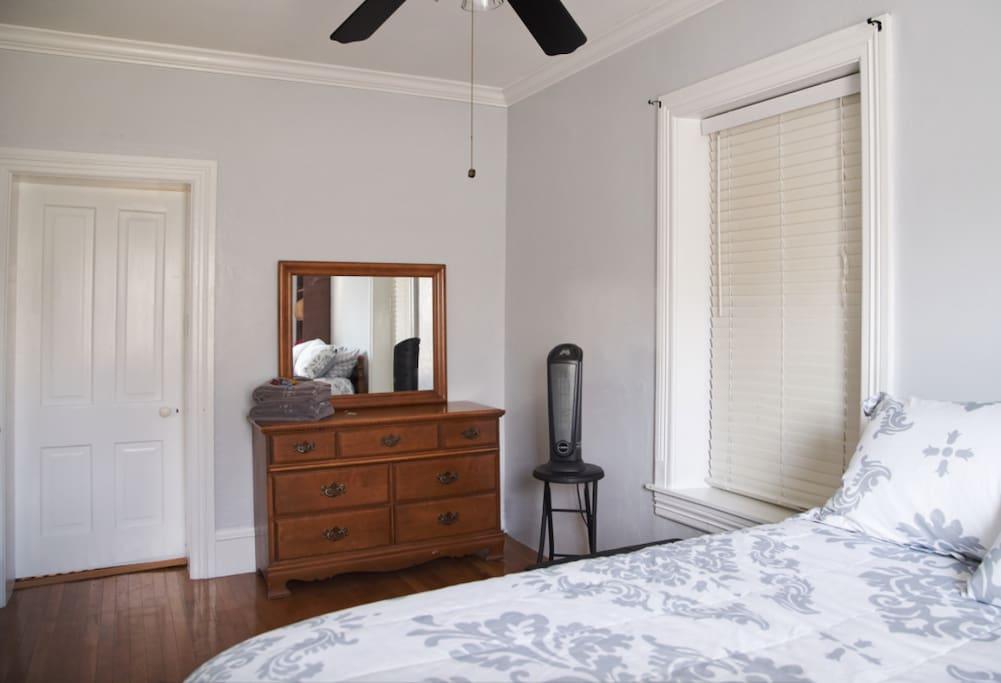Dresser & space heater